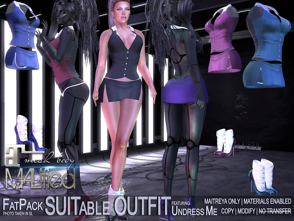 MALified – Undress-Me SUITable Outfits – FATPACK