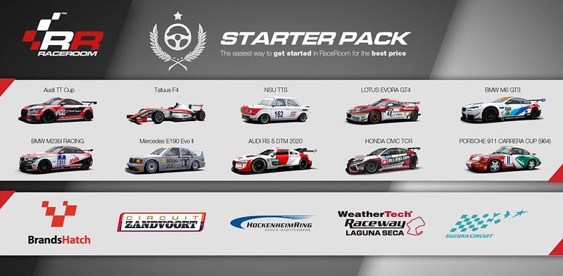RaceRoom Starter Pack