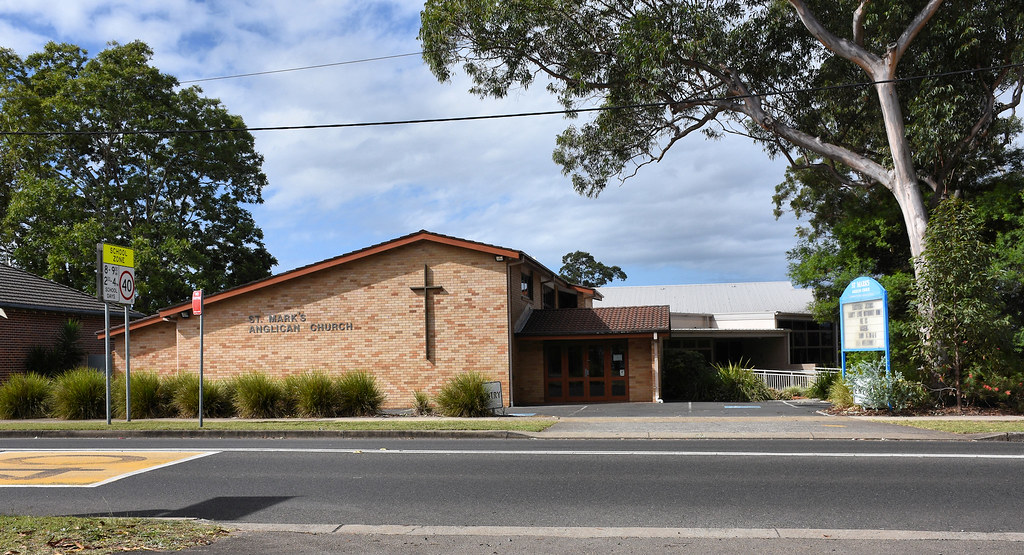 St Mark's Anglican Church, Berowra, Sydney, NSW.