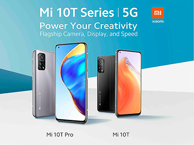 The latest Mi 10T and Mi 10T Pro flagships phones from Xiaomi have been launched in Singapore.