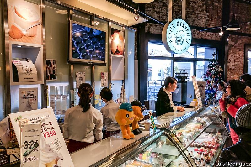 Puesto de venta de Petite Merveille en Hakodate