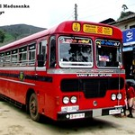 NB-3665 Kataragama Depot Ashok Leyland - Viking 210 Turbo B+ type bus at Nanuoya in 09.09.2012