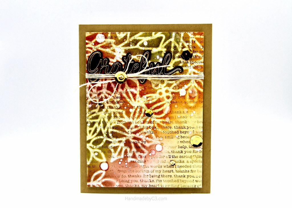 Grateful card #1