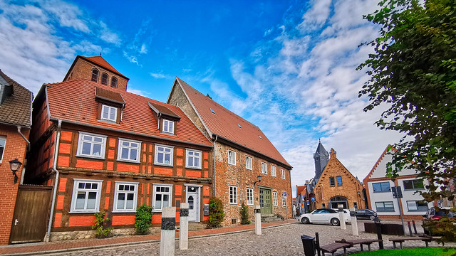 Waren/Müritz - Altstadt, Alter Markt