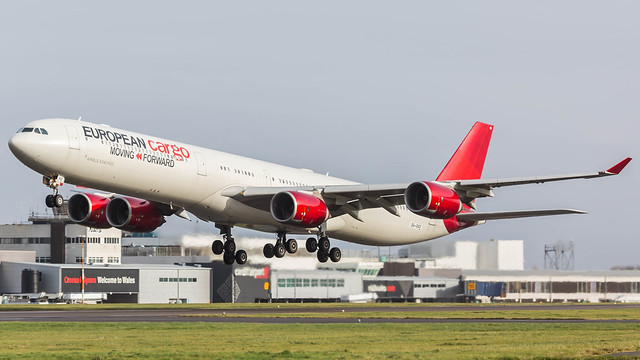 9H-PPE - Maleth Aero a346 @ Cardiff Airport 16/11/20