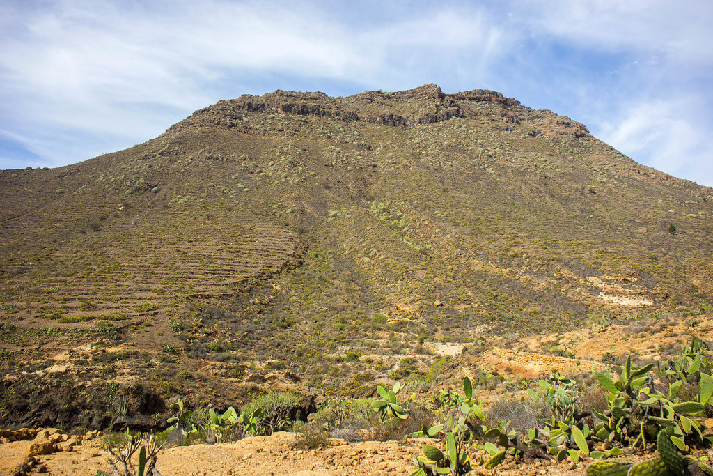 Roque del Conde o Ichasagua en Tenerife