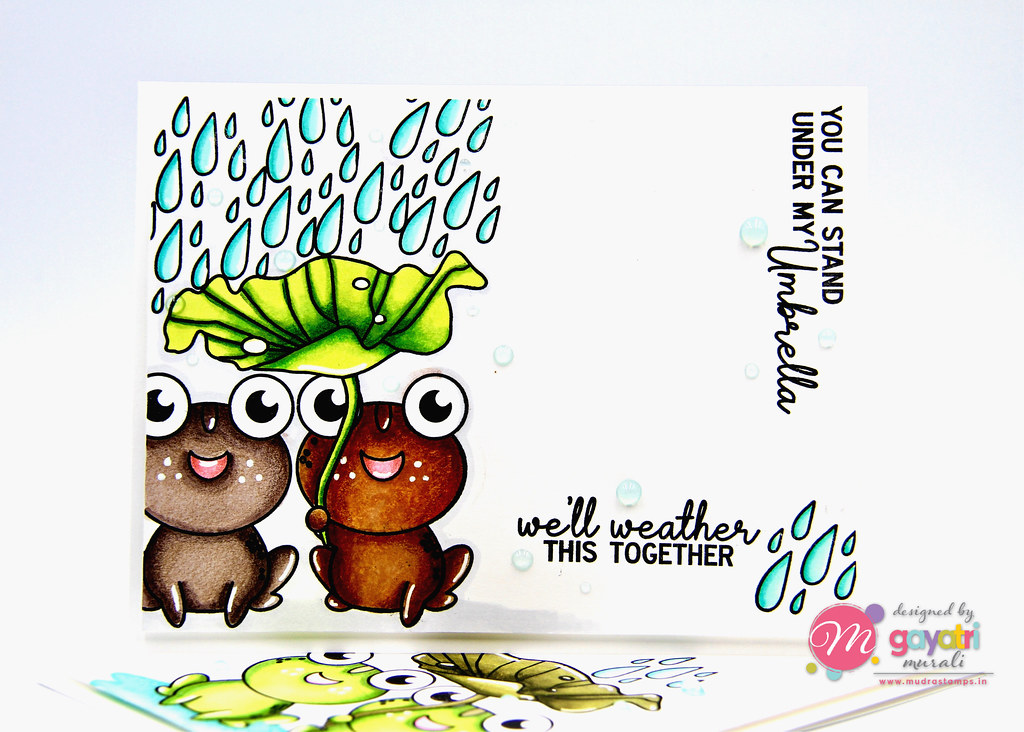 Frog card #1