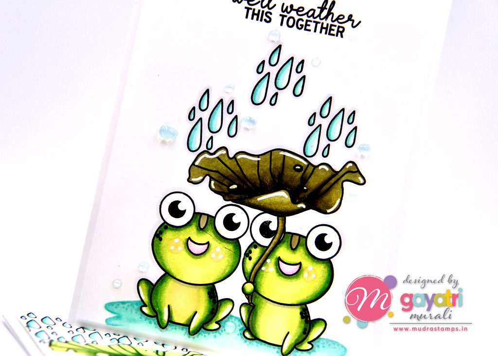 frog card #2 closeup2