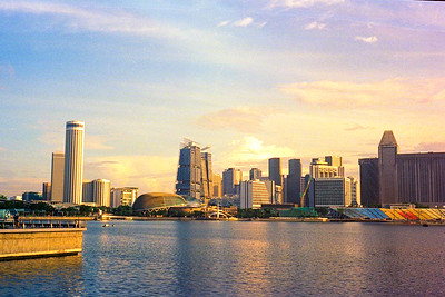 Golden Hour at Marina Bay