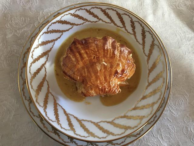 Feuilleté de la mer (Seafood puff pastry)
