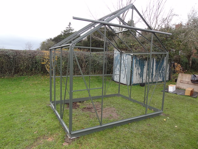 Greenhouse construction, part 4
