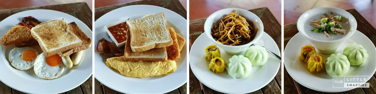 Breakfast Set Four Points Eatery - Four Points by Sheraton Singapore, Riverview