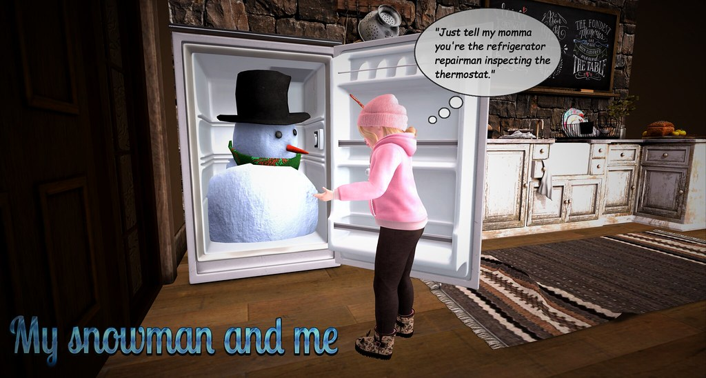 my snowman and me