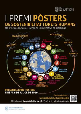 I Premi de Pòsters de Sostenibilitat i Drets Humans (UB)