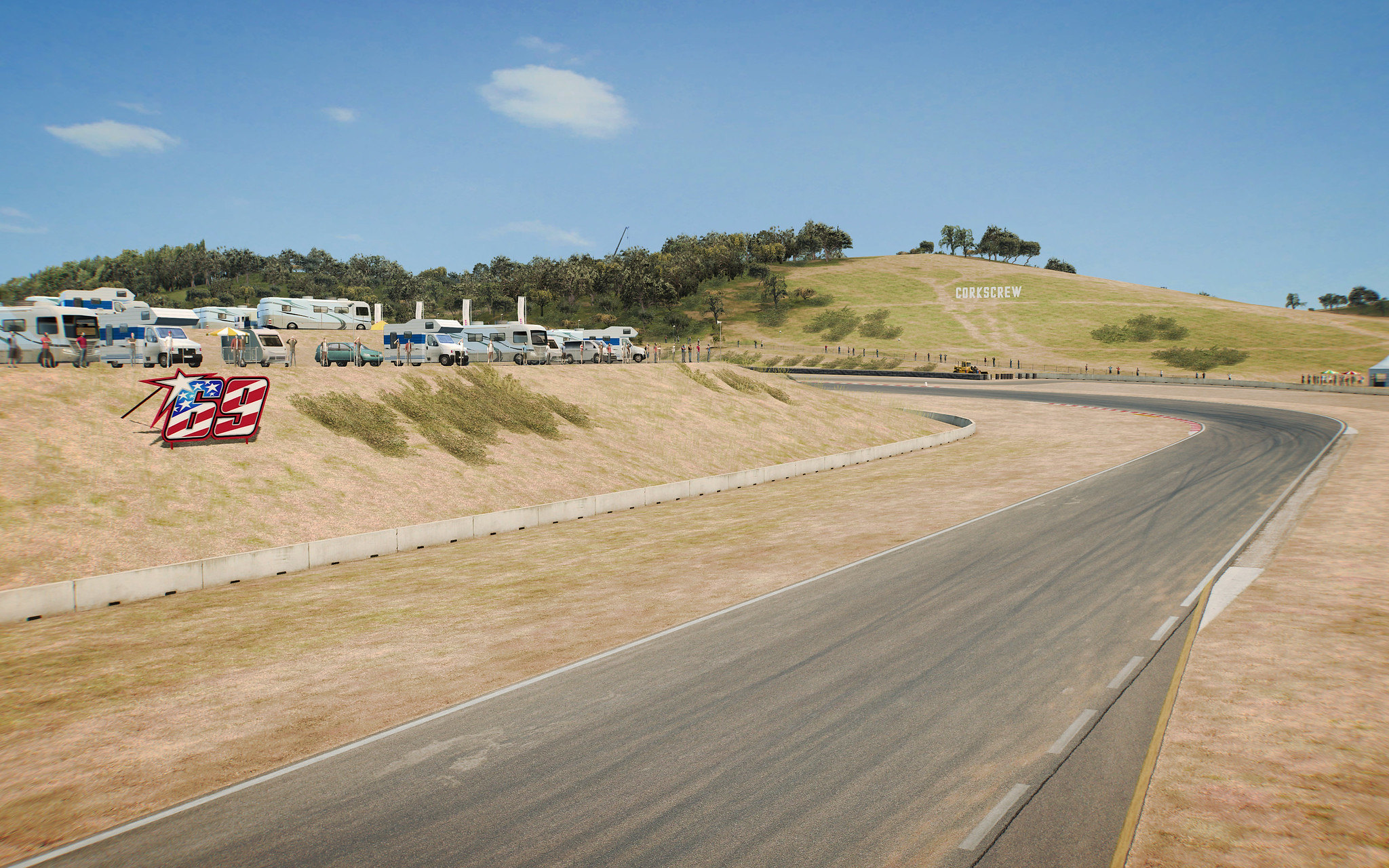 RaceRoom Laguna Seca 2