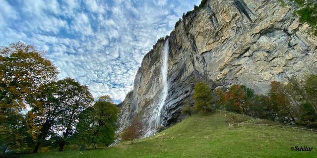 Staubbachfall Lauterbrunnen, 297 m hoch