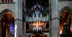 Rodez (Aveyron, Occitanie, Fr) – L'orgue de la cathédrale (XVIIe siècle)