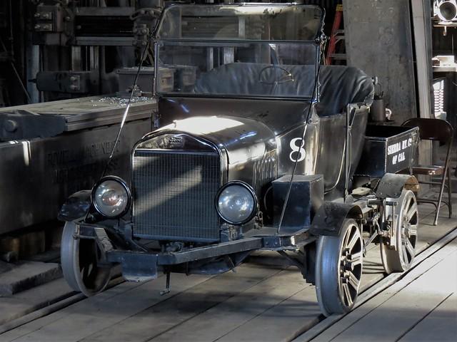 Sierra No. 8 Railcar