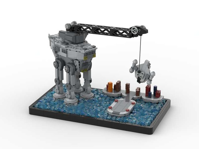 Lego Star Wars Razor Crest Recovery Mandalorian S2 MOC
