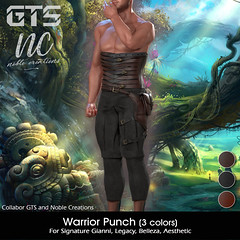 GTS X [NC] Warrior Punch Clothing - MAN CAVE