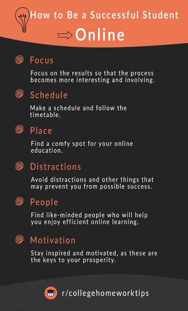 tips on how to succeed in online classes