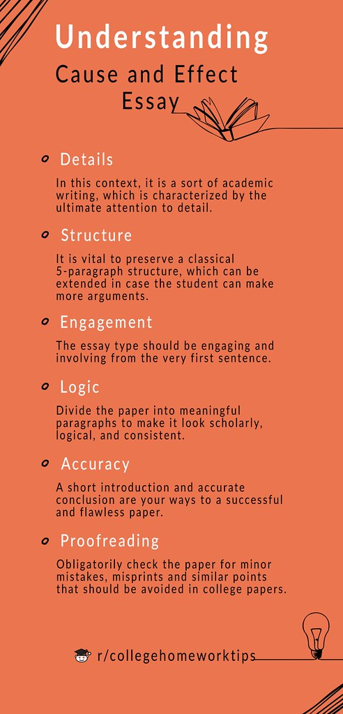 tips about understanding a cause and effect essay