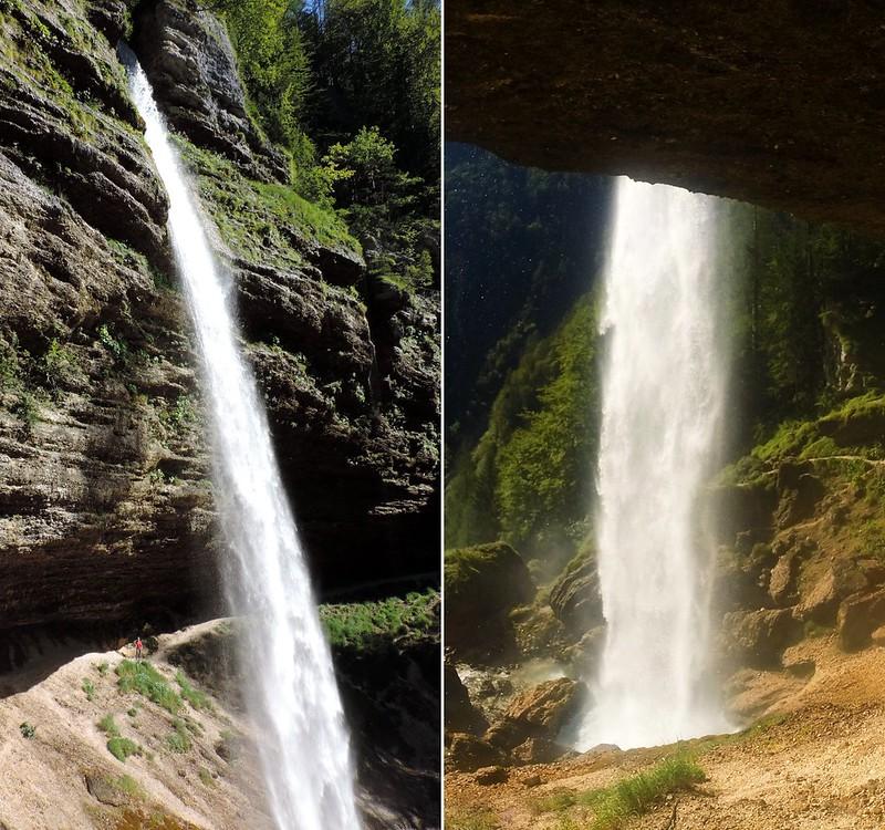 Peričnik waterfall, Triglav National Park, Slovenia