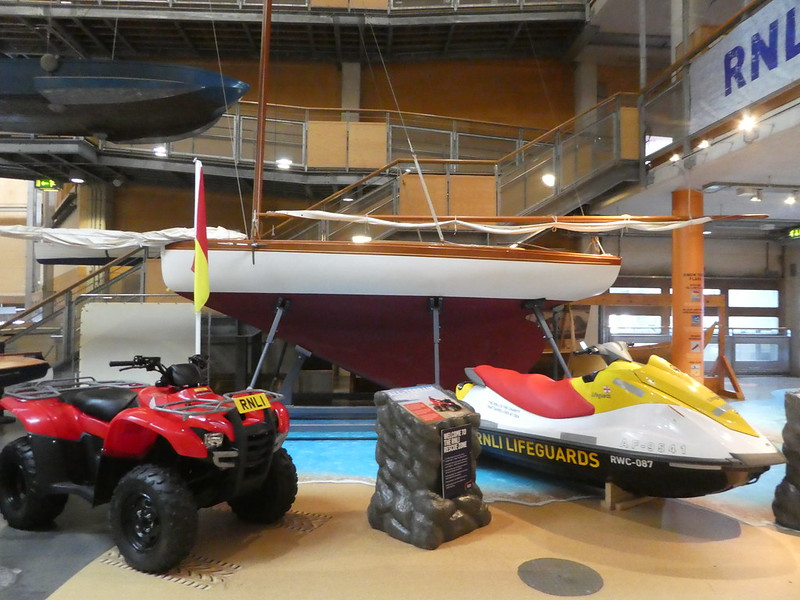 RNLI Rescue Gallery at the National Maritime Museum Cornwall