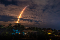 SpaceX Crew 1 Mission to the ISS from LC-39A, Kennedy Space Center as seen from Indian Harbour Beach, FL