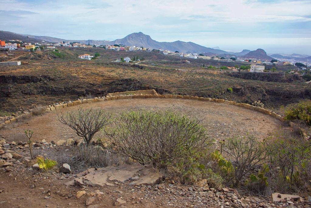 Antigua era construida en el sur de Tenerife