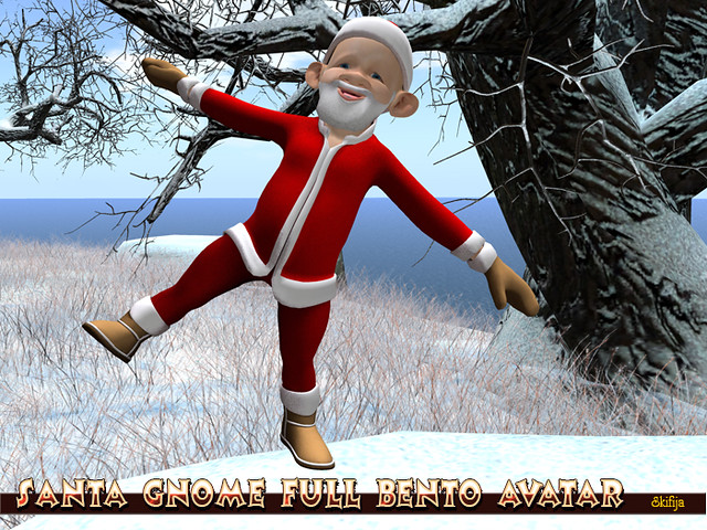 Santa Gnome Full Bento Avatar