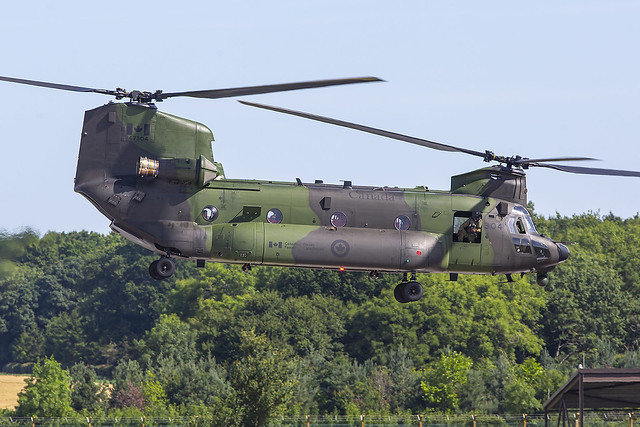 147304, Boeing CH-47D Canadian Armed Forces @ Fairford EGVA
