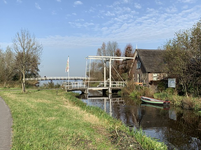 Small bridge outside Hoogmade (Netherlands 2020)