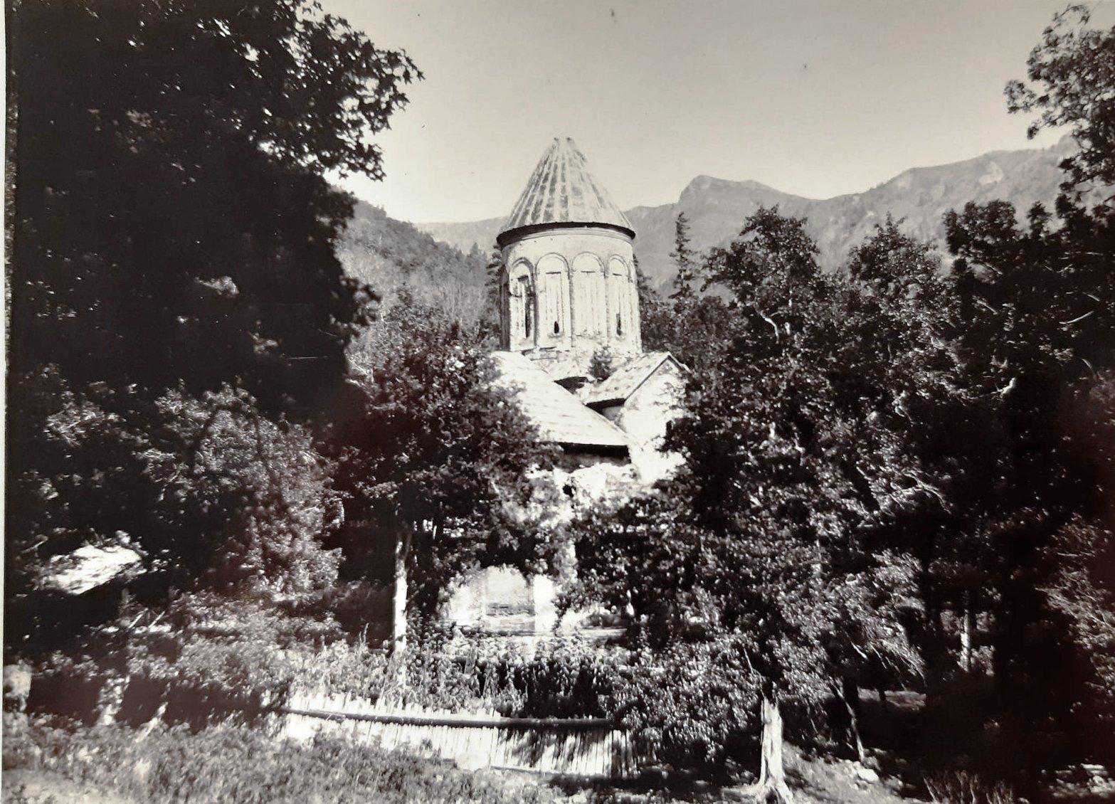 31. Вид храма Тимотесубани (Успения Пресвятой Богородицы)