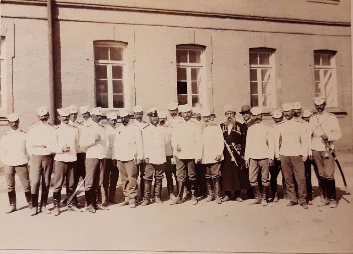 22. Группа военных 45-го драгунского Северского полка. «Северцы»