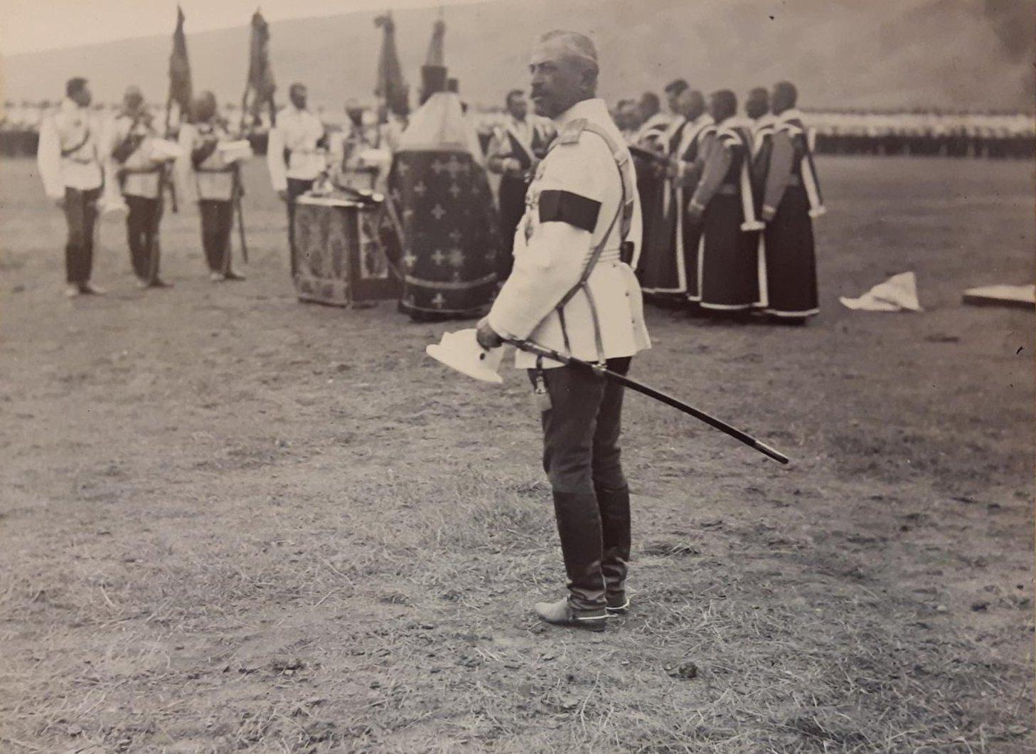 07. Полковник В.В. Петров на молебне