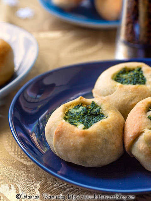 Feast of Seven Knishes - Spinach