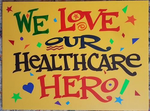 Healthcare hero by Nan Parati