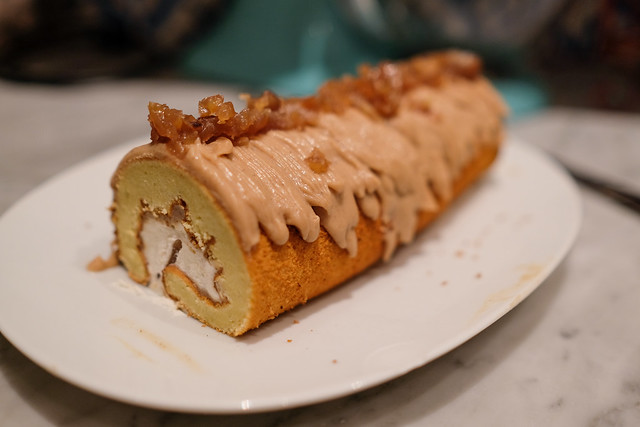 Mont Blanc Roll Cake TOMIZ 富澤商店 アーモンド生地で作る モンブランロール