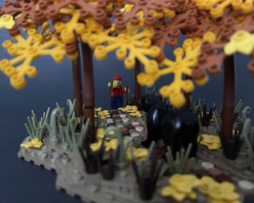Hiking is not always safe. | by brickprincess