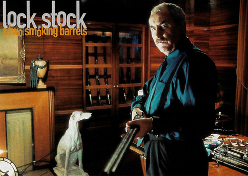 P.H. Moriarty in Lock, Stock and Two Smoking Barrels (1998)