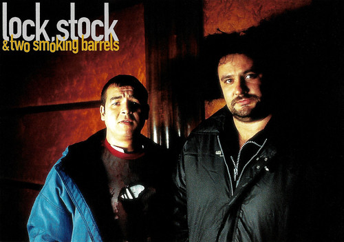 Victor McGuire and Jake Abraham in Lock, Stock and Two Smoking Barrels (1998)