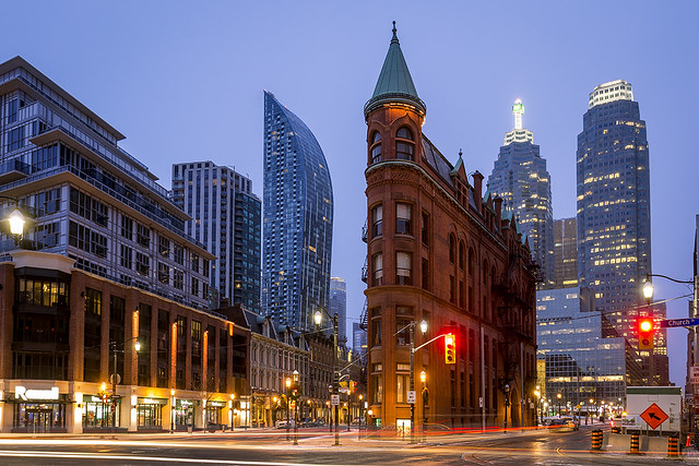 Gooderham Building, Toronto, Ontario, Canada