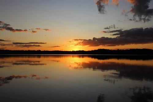 someenchantedevening sunset northcarolina reflections