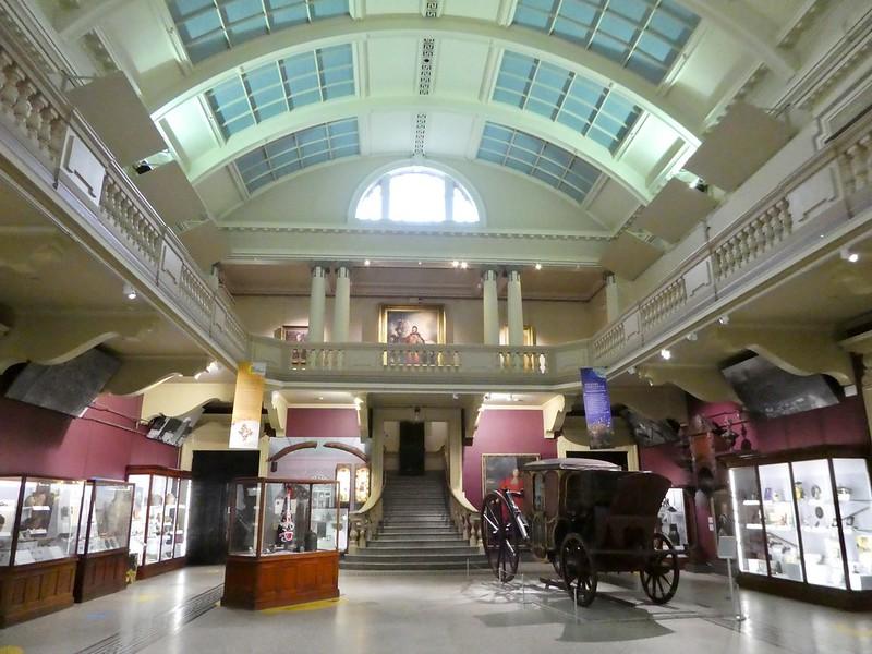 Royal Cornwall Museum main hall