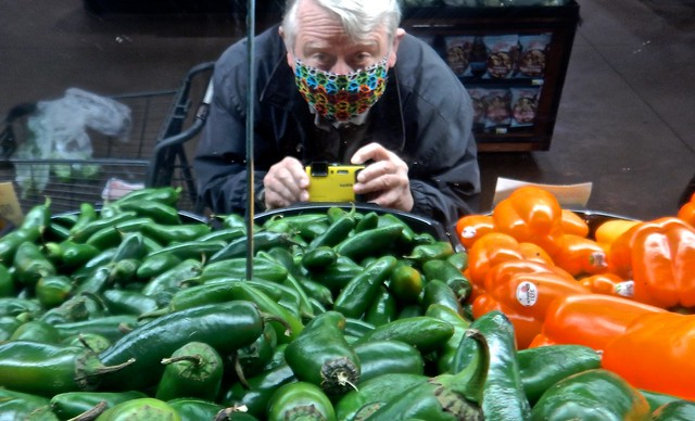 Self-Portrait at the Jalapeño Pepper Section in Price Chopper