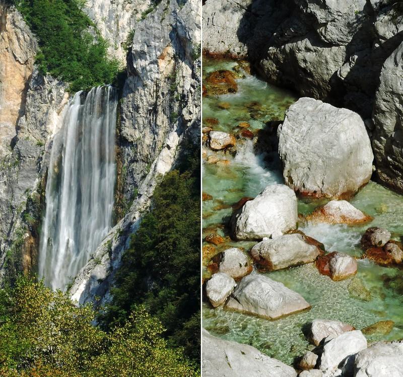 Slap Boka, Triglav National Park, Slovenia