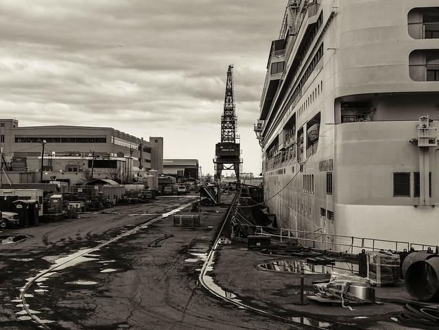Ship Repair--Drydock