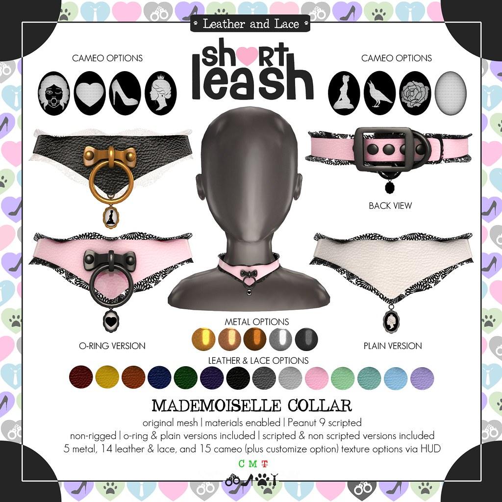 .:Short Leash:. Mademoiselle Collar