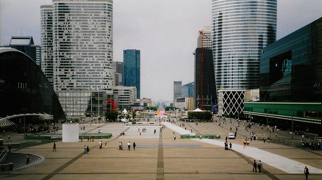 La Défense - Paris - July 2002